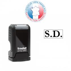 TRODAT PRINTY 4907 | Tampon encreu 1 ligne | Empreinte 13 x 6 mm OFFERTE