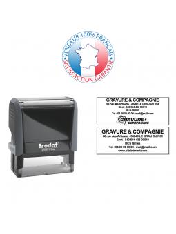 Cassette d'encrage 49 x 28 mm | TRODAT 6/53A
