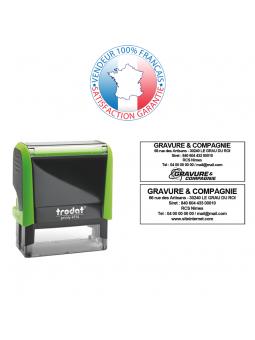 Cassette d'encrage 56 x 33/26 mm | TRODAT 6/56A