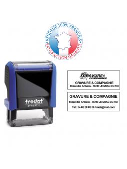 Cassette d'encrage 70 x 25 mm | TRODAT 6/55A