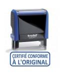"""tampon trodat 4912 """" Certifié conforme à l'original """""""