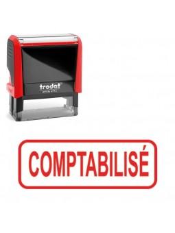 """tampon trodat 4912 """" Comptabilisé """""""