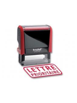 LETTRE PRIORITAIRE | Tampon encreur formule commerciale | TRODAT XPRINT 4992.34