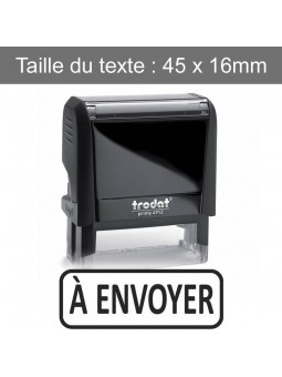 À ENVOYER | Tampon encreur formule commerciale | TRODAT XPRINT 4992.62