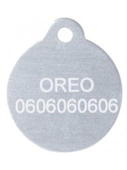 Médaille gravée pour chien