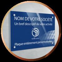 Plaques pour pros personnalisées plexiglass | 42€ | Livraison offerte