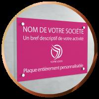 Plaques gravées personnalisées professionnels PVC | 30€ | Port offert