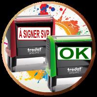 Tampons encreur TRODAT XPRINT pas cher | Livraison gratuite